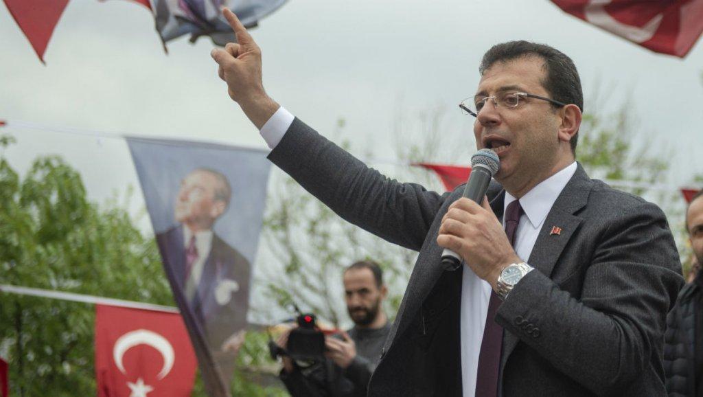 رئيس بلدية اسطنبول بعد إلغاء فوزه: سأقود ثورة من أجل الديمقراطية
