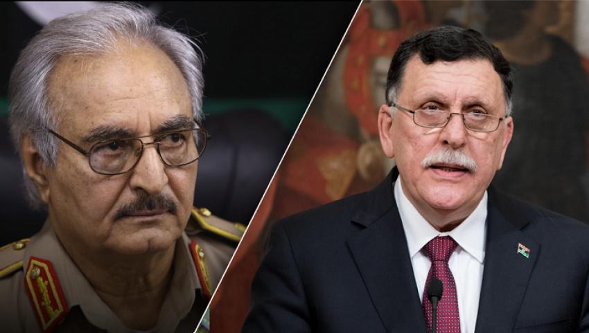 معركة طرابلس: حفتر يلتفي السيسي.. والسراج في جولة أوروبية