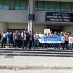 وقفة احتجاجية للفلاحين أمام وزارة التجارة