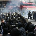 باريس: صدامات بين ناشطين معادين للرأسمالية والشرطة