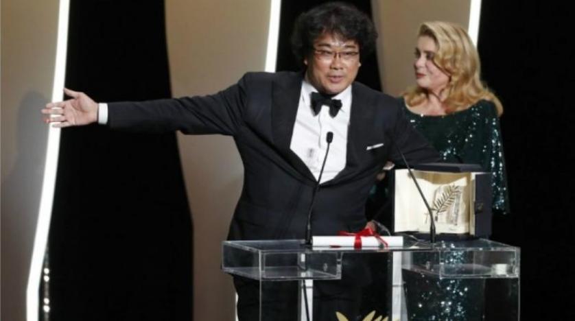 """عن فيلم """"الطفيلي"""": مخرج كوري جنوبي يفوز بالسعفة الذهبية لمهرجان كان"""