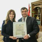 """جمعية ايطالية تمنح روني الطرابلسي وسام """"أفضل وزير"""""""