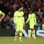 بعد كارثة ليفربول: ميسي يطرد 3 نجوم من برشلونة