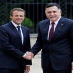 """اتهم فرنسا بمساندة """"الدكتاتور حفتر"""": السراج في باريس للقاء ماكرون"""