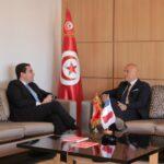 بعد سفيري اسبانيا والبرتغال: سفير فرنسا في مكتب سليم العزابي