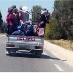 سوسة: حجز 3 شاحنات لنقل عاملات الفلاحة وتغريم أصحابها
