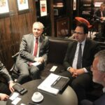 أكّدوا اهتمامهم بالاستثمار في تونس: زياد العذاري يلتقي ممثّلي كبرى الشركات الفرنسية