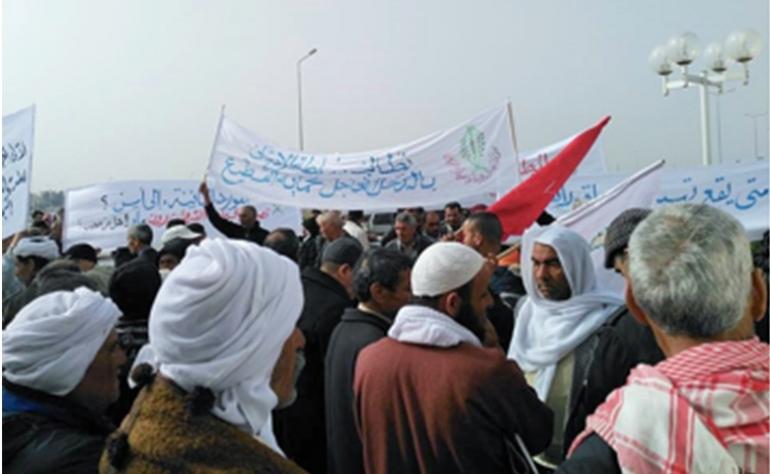 غضب الفلاحين على وزارة التجارة يتصاعد