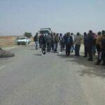 """محتجون يقطعون الطريق بين نابل وقرية """"تركي"""""""