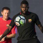صخرة دفاع برشلونة يرفض عرض اليوفي