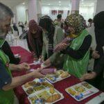 بعدد من الولايات: هيئة الاغاثة التركية توزع أغذية وتنظم افطارا لـ300 عائلة