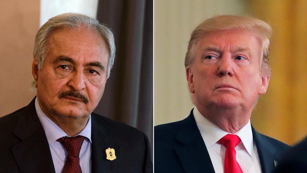 """""""وول ستريت جورنال"""": السعودية ومصر ضغطتا على ترامب لدعم حفتر"""