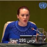 فيديو: لحظة الاعلان عن انتخاب تونس بمجلس الأمن الدولي