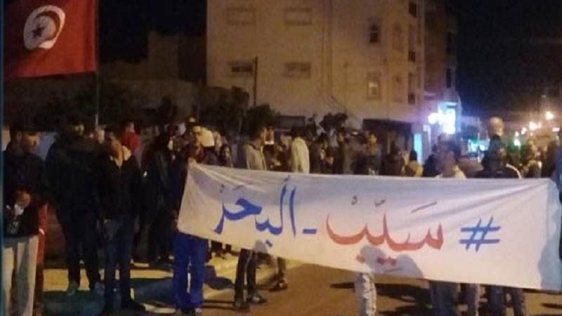 احتجاجات الرجيش: اصابة عوني أمن.. والاحتفاظ بمُحتجين