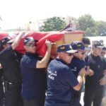 """صور: جنازة مهيبة لشهيد تونس """"مهدي الزمالي"""""""