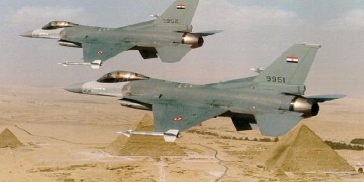 مصر: القضاء على 5 إرهابيين في غارة جوية