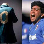 """بعد 27 عاما.. نابولي يٌعيد """"قميص مارادونا"""" إلى الحياة"""