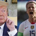 قائدة المنتخب الأمريكي تتحدّى ترامب وترفض ترديد النشيد الوطني