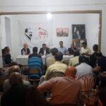 مصطفى الجويلي: اجتماع اللجنة المركزية للوطد سيكون حاسما