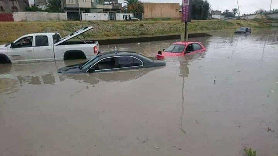 كارثة في ليبيا: غرق مدينة و3 قرى بالكامل