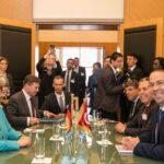 معالجة الأوضاع بليبيا والجزائر ضمن اهتمامات الشّاهد وميركل