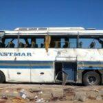 مصر: 3 قتلى و18 جريحا في انقلاب حافلة