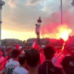 """فرنسا: قتيلة و74 موقوفا في احتفالات الجزائريين بالتأهّل لنصف نهائي الـ""""كان"""""""