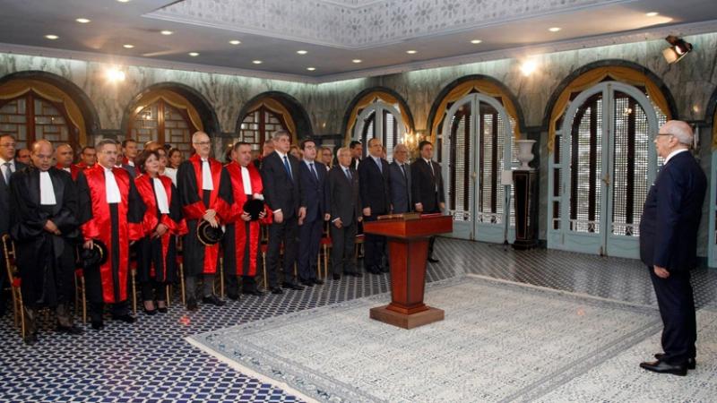 المجلس الأعلى للقضاء ينعى الرئيس قائد السبسي
