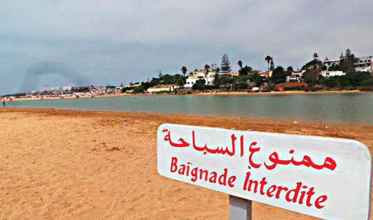 """بنزرت : منع وتحذير من خطورة السباحة بشاطئي """"البوغاز"""" و""""البونته"""""""