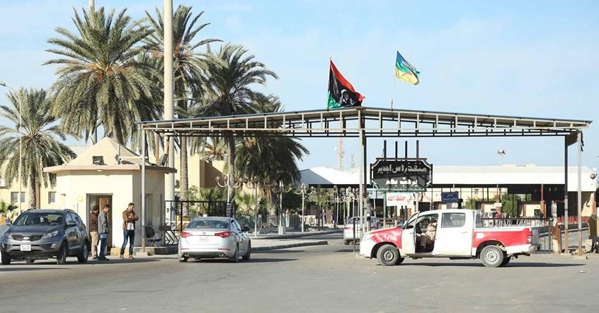 معبر راس جدير: توقّف الحركة من الجانب الليبي