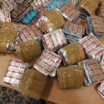 الديوانة: إحباط تهريب مخدرات وأدوية وعملة أجنبية (صور)