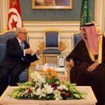 برقيتا تعزية من ملك السعودية وولي العهد