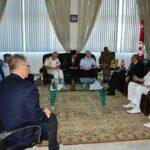 التعاون العسكري والوضع بليبيا محور لقاء الزبيدي ورئيس الأركان الإيطالي