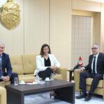 الاستعدادات للانتخابات في لقاء وزير العدل بنبيل بفون