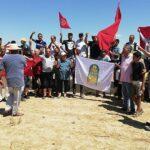 القيروان: مُحتجّون يضعون حجر الأساس لمستشفى الملك سلمان (صور)