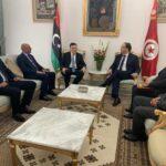 في لقائه بالسراج : الشاهد يعرب عن قلق تونس من حرب طرابلس