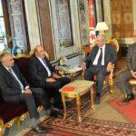 محمد الناصر يلتقي وفدا عن هيئة مراقبة دستورية مشاريع القوانين
