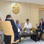 وزير العدل يلتقي رؤساء وممثلين عن منظمات وطنية ودولية