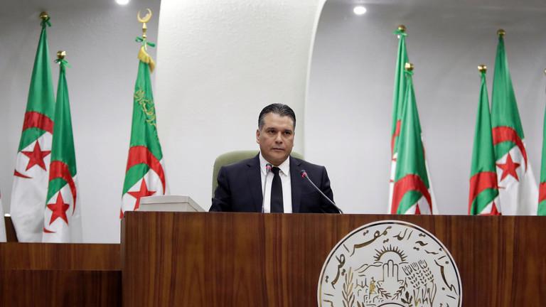 استقالة رئيس البرلمان الجزائري