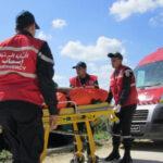 النفيضة : إصابة 4 عاملات في حادث مرور