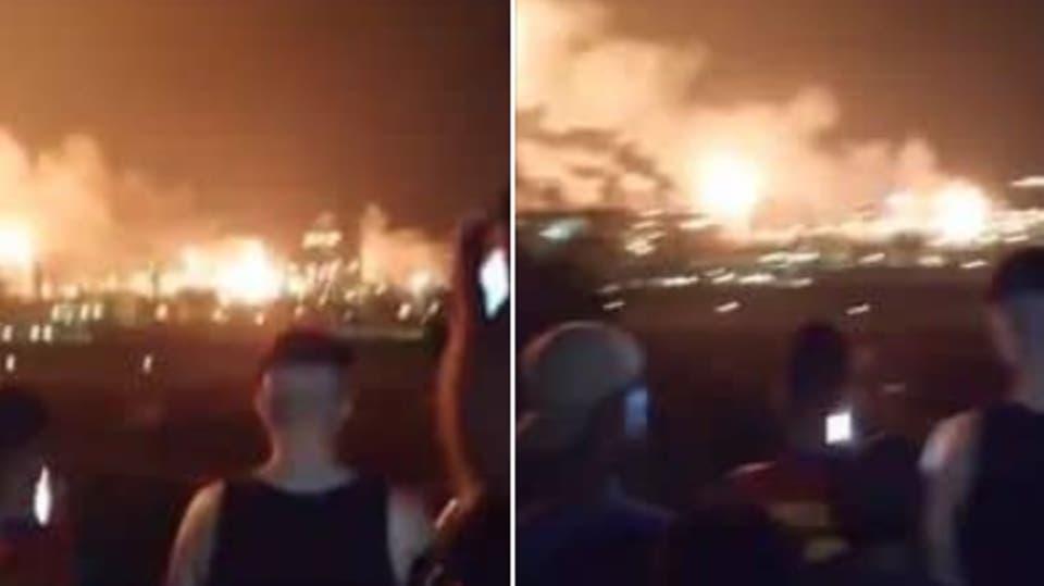 الجزائر : حريق هائل يهزّ كبرى شركات إنتاج الغاز