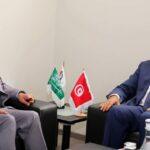 بعد عبير موسي: لقاء بين المهدي جمعة وسفير السعودية