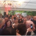 بعد أيام من اقالته: عادل الخبثاني في افتتاح مقرّ حملة الزبيدي
