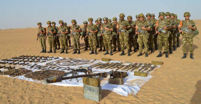 الجزائر تعلن حجز قنابل و7 قذائف صاروخية قرب الحدود مع النيجر
