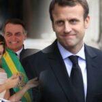 بسبب زوجتيهما : رئيس البرازيل يسخر.. وماكرون يشتم