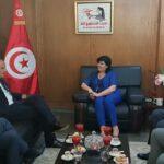 بعد المرزوقي : سفير فرنسا يلتقي عبير موسي