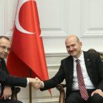 وزير الداخلية واطارات سامية من الوزارة في زيارة عمل لتركيا