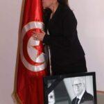 في سفارة تونس بلبنان: ماجدة الرومي تُعزي تونس وتُقبل العلم الوطني