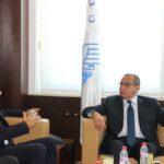سمير ماجول يجتمع بسفير فرنسا