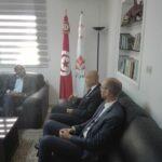 حزب الحراك:  سفير فرنسا أدّى زيارة مجاملة للمرزوقي